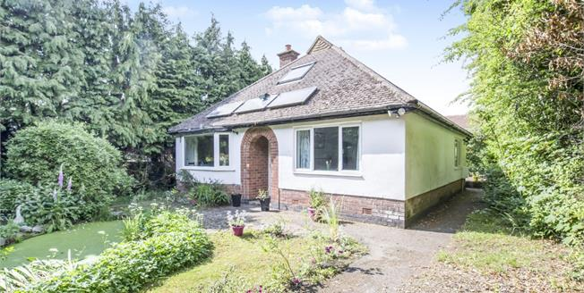 Guide Price £270,000, 3 Bedroom Detached Bungalow For Sale in Markfield, LE67