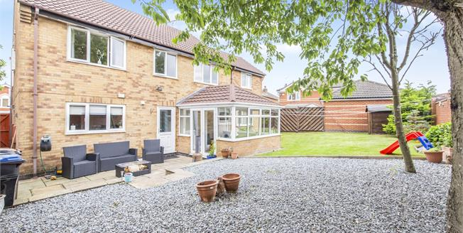 Offers Over £375,000, 4 Bedroom Detached House For Sale in Markfield, LE67
