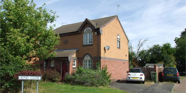 Asking Price £135,000, 2 Bedroom Semi Detached House For Sale in Loughborough, LE11