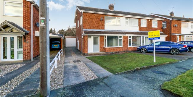 Asking Price £192,500, 3 Bedroom Semi Detached House For Sale in Loughborough, LE11