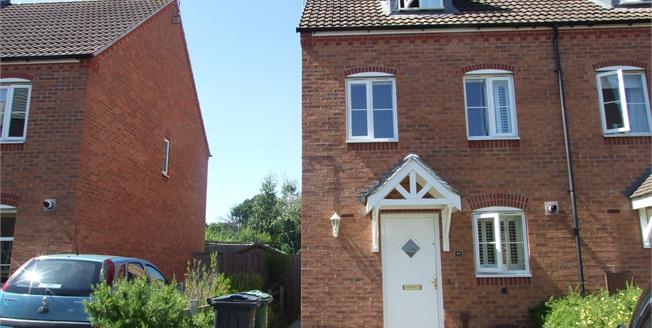 Offers in the region of £185,000, 3 Bedroom Semi Detached House For Sale in Loughborough, LE11