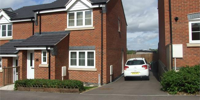 Offers in the region of £187,500, 3 Bedroom Semi Detached House For Sale in Sileby, LE12