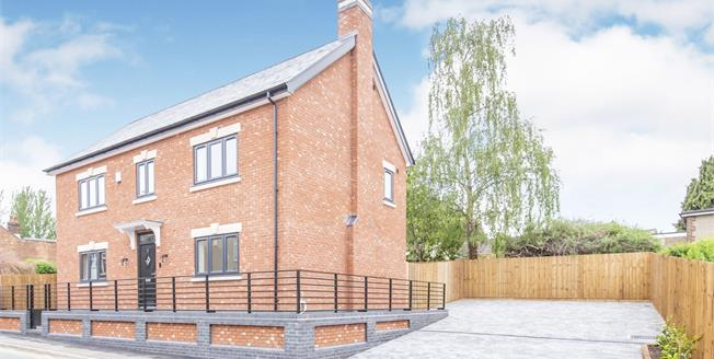 Offers Over £400,000, 4 Bedroom Detached House For Sale in Loughborough, LE12