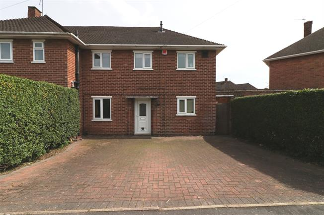 Sensational 3 Bedroom Semi Detached House For Sale In Loughborough For Home Remodeling Inspirations Cosmcuboardxyz