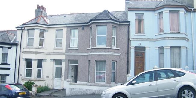 Asking Price £170,000, 4 Bedroom Terraced House For Sale in Devon, PL4
