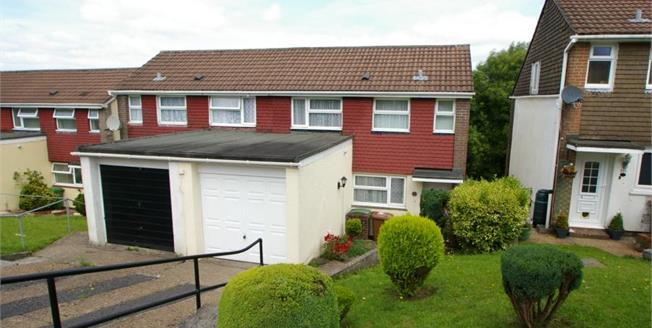 Asking Price £170,000, 3 Bedroom Semi Detached House For Sale in Plymouth, PL6