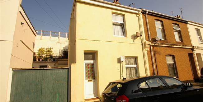 Guide Price £100,000, 2 Bedroom End of Terrace House For Sale in Plymouth, PL1