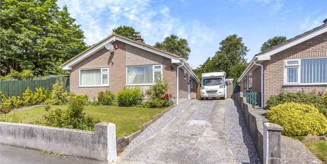 Guide Price £270,000, 3 Bedroom Detached Bungalow For Sale in Plymouth, PL6