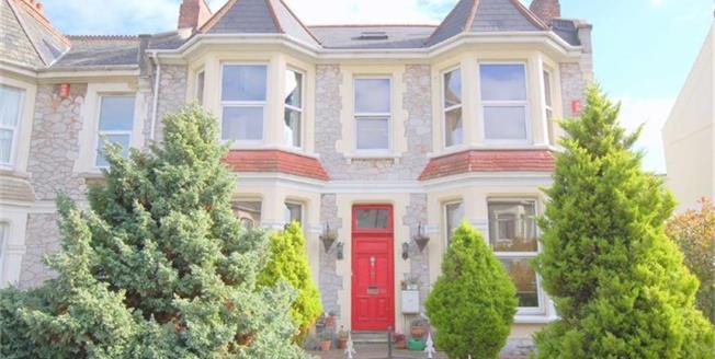 Guide Price £450,000, 7 Bedroom Semi Detached House For Sale in Plymouth, PL3