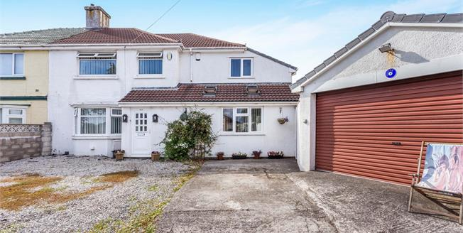 Guide Price £230,000, 4 Bedroom Semi Detached House For Sale in Plymouth, PL2