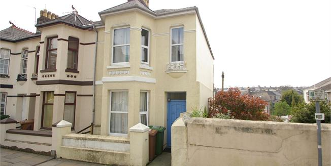 Guide Price £150,000, 3 Bedroom End of Terrace House For Sale in Plymouth, PL4