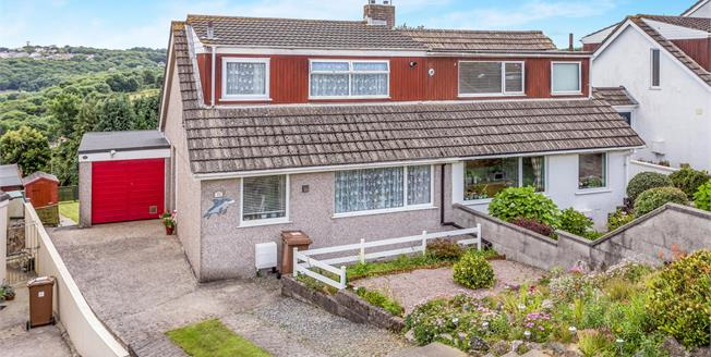 Offers Over £190,000, 3 Bedroom Semi Detached House For Sale in Plymouth, PL6