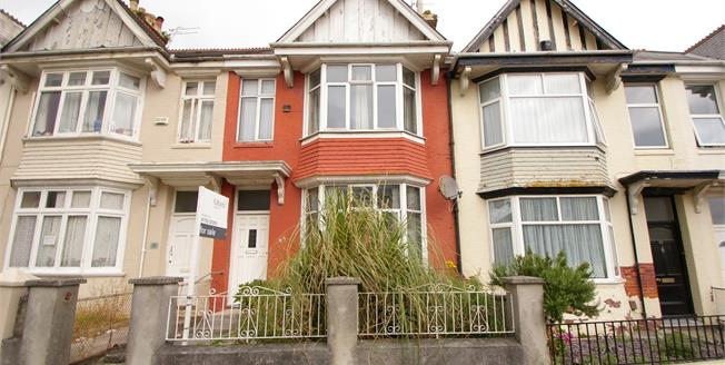 Offers Over £180,000, 3 Bedroom Terraced House For Sale in Plymouth, PL4