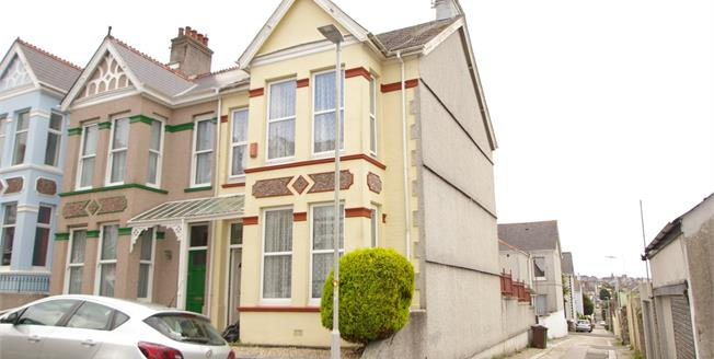 Offers Over £200,000, 3 Bedroom End of Terrace House For Sale in Plymouth, PL3