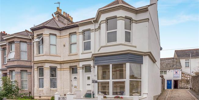 Asking Price £190,000, 4 Bedroom End of Terrace House For Sale in Plymouth, PL4