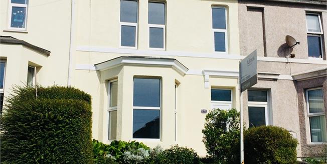 Guide Price £170,000, 3 Bedroom Terraced House For Sale in Plymouth, PL3