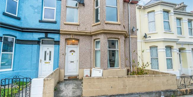 Guide Price £170,000, 4 Bedroom Terraced House For Sale in Plymouth, PL4