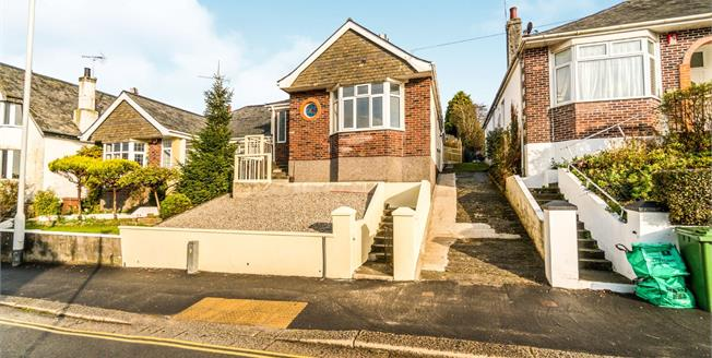Guide Price £230,000, 2 Bedroom Semi Detached Bungalow For Sale in Plymouth, PL3