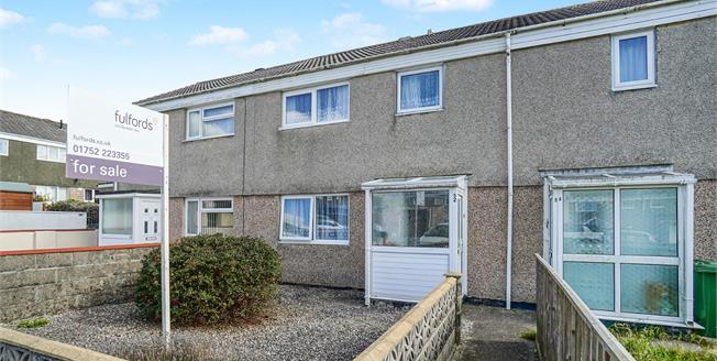 Guide Price £140,000, 3 Bedroom Terraced House For Sale in Plymouth, PL6