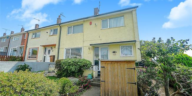Guide Price £160,000, 3 Bedroom End of Terrace House For Sale in Plymouth, PL5