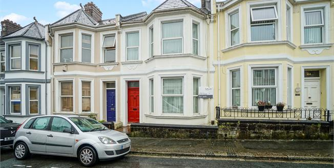 Guide Price £190,000, 3 Bedroom Terraced House For Sale in Plymouth, PL3
