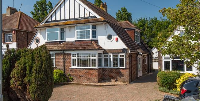 Offers in excess of £625,000, 4 Bedroom Semi Detached House For Sale in Hove, BN3