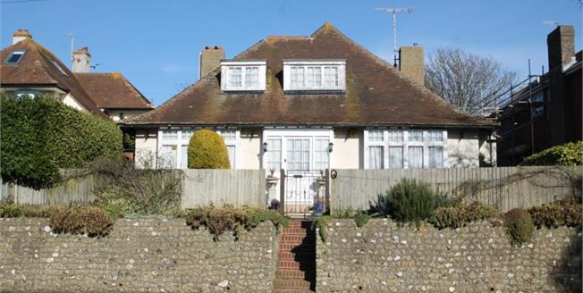 Guide Price £700,000, 4 Bedroom Detached Bungalow For Sale in Rottingdean, BN2