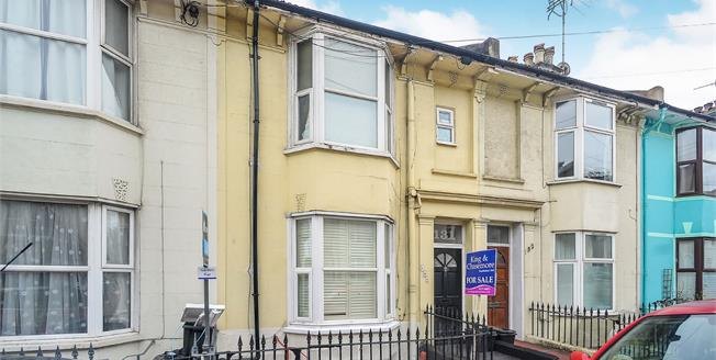 Guide Price £425,000, 4 Bedroom Terraced House For Sale in Brighton, BN2