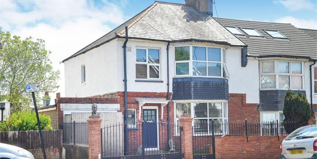 Asking Price £675,000, 5 Bedroom End of Terrace House For Sale in Brighton, BN1