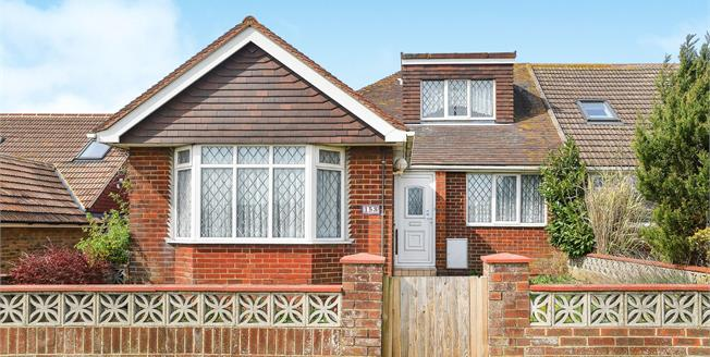 Asking Price £375,000, 2 Bedroom Semi Detached Bungalow For Sale in Brighton, BN2