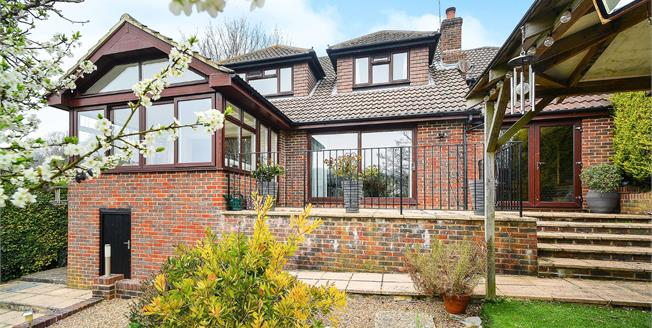 Asking Price £900,000, 4 Bedroom Detached House For Sale in Brighton, BN1