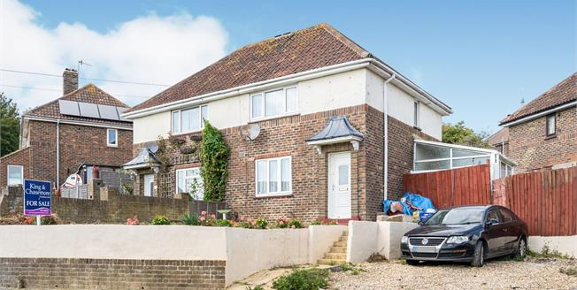 Guide Price £300,000, 2 Bedroom Semi Detached For Sale in Brighton, BN2
