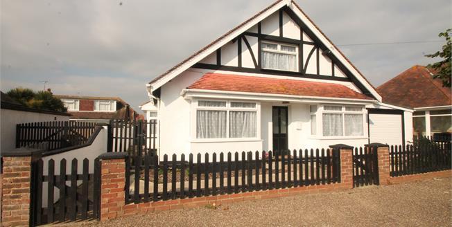 Asking Price £325,000, 4 Bedroom Detached Bungalow For Sale in Bognor Regis, PO21