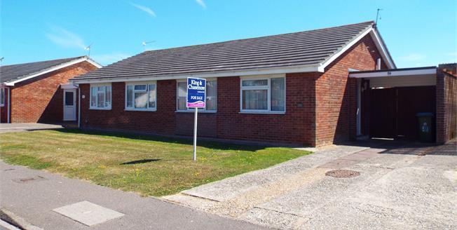 Guide Price £250,000, 2 Bedroom Semi Detached Bungalow For Sale in Bognor Regis, PO21