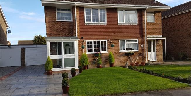 Asking Price £319,950, 3 Bedroom Semi Detached House For Sale in Selsey, PO20