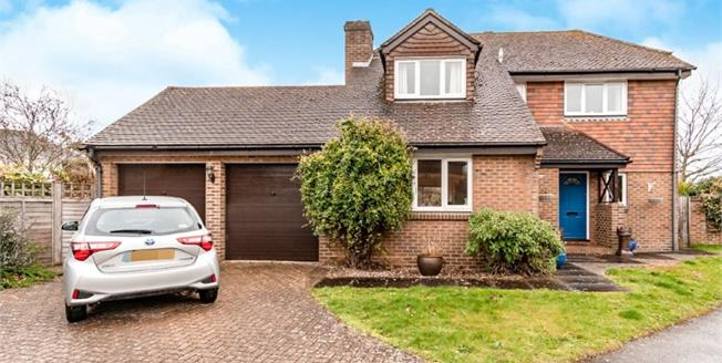 Asking Price £520,000, 4 Bedroom Detached House For Sale in Yapton, BN18
