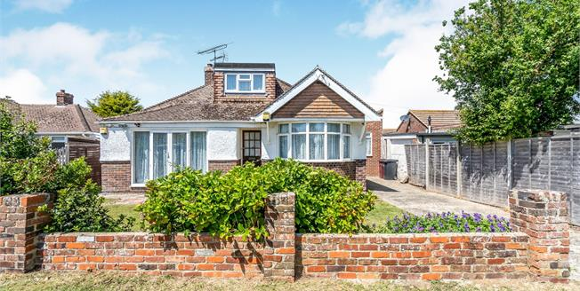 Asking Price £350,000, 4 Bedroom Detached Bungalow For Sale in Selsey, PO20