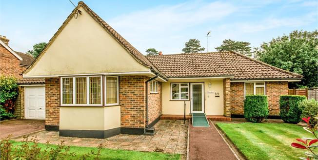 Offers Over £350,000, 2 Bedroom Detached Bungalow For Sale in Crawley, RH11