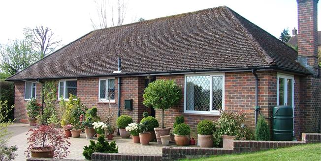 Asking Price £475,000, 3 Bedroom Detached Bungalow For Sale in Midhurst, GU29