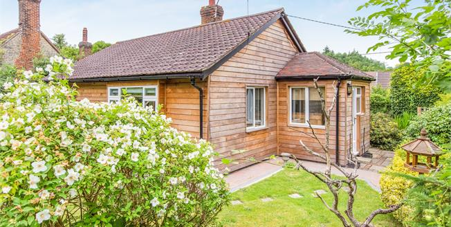 Asking Price £395,000, 2 Bedroom Detached Bungalow For Sale in Stedham, GU29