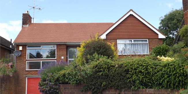 Asking Price £360,000, 2 Bedroom Detached Bungalow For Sale in Steyning, BN44