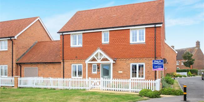 Asking Price £495,000, 4 Bedroom Link Detached House For Sale in Henfield, BN5
