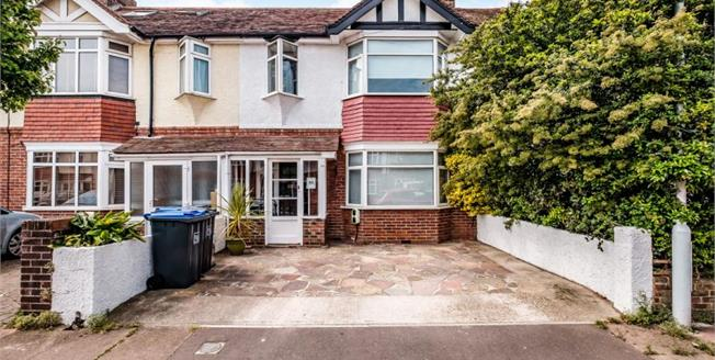 £330,000, 3 Bedroom Terraced House For Sale in Worthing, BN14