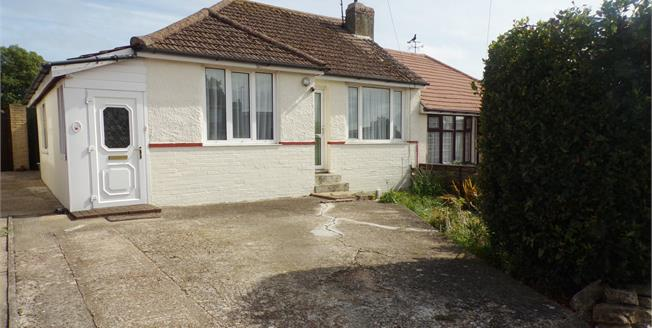 Asking Price £290,000, 2 Bedroom Semi Detached Bungalow For Sale in Sompting, BN15