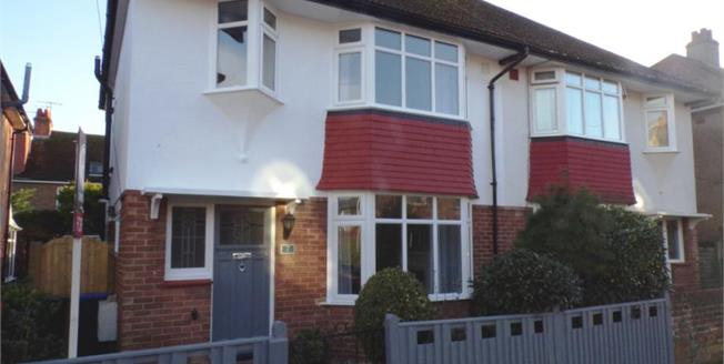 £389,950, 3 Bedroom Semi Detached House For Sale in Worthing, BN14