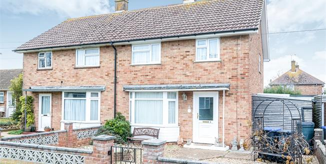 Guide Price £280,000, 3 Bedroom Semi Detached House For Sale in Goring-by-Sea, BN12