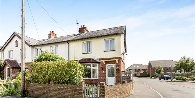 Offers in the region of £250,000, 2 Bedroom End of Terrace For Sale in Chichester, PO19