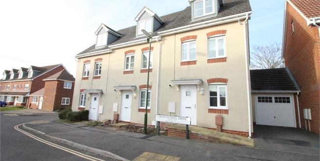 Asking Price £370,000, 4 Bedroom End of Terrace House For Sale in Chichester, PO19