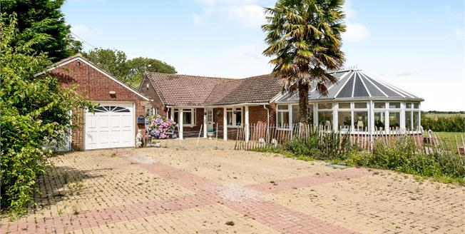 Guide Price £725,000, 4 Bedroom Detached Bungalow For Sale in Woodgate, PO20