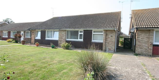 Guide Price £240,000, 2 Bedroom Semi Detached Bungalow For Sale in Eastbourne, BN23